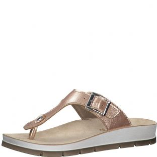Marco Tozzi 2-27409-24 592 Rose Metallic Womens Sandals